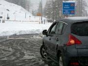 Der Nufenenpass ist einer der gesperrten Verkehrswege. (Bild: KEYSTONE/TI-PRESS/DAVIDE AGOSTA)