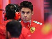 Charles Leclerc war zum Auftakt in Monza zweimal der Schnellste (Bild: KEYSTONE/EPA ANSA/DANIEL DAL ZENNARO)