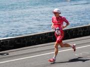 Daniela Ryf wird in Nizza fast so nah wie in Hawaii dem Meer entlang laufen können (Bild: KEYSTONE/FRE 132414 AP/MARCO GARCIA)