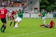 Vergangenen Samstag gewannen die Kronen Zuhause 3:1. (Bild: PD/SC Brühl)