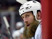 Der 40-jährige Joe Thornton nimmt seine 22. NHL-Saison in Angriff. Es ist bereits die 15. für die San Jose Sharks (Bild: KEYSTONE/FR67404 AP/NICK WASS)