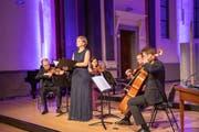 Das Konzert von Sopranistin Katja Stuber. (Bild: Mirjam Bollag Dondi/PD, Sarnen, 5. September 2019)