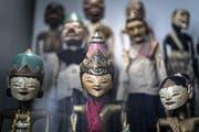 Einblick in die Ausstellung «Asien – Spiel der Kulturen». (Bild: Michel Canonica - 13. Februar 2019)