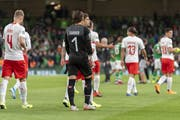 Wie werden die Schweizer mit dem 1:1 gegen Irland umgehen? (Bild: Georgios Kefalas/KEY)