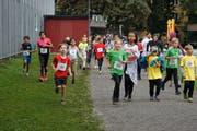 Die Laufstrecke rund um die Kreuzbleiche war 1,2 Kilometer lang.