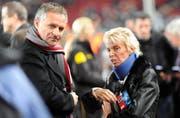 Zu Zeiten von Präsidentin Gigi Oeri übernahm Ruedi Zbinden bereits die Aufgaben eines Sportchefs. (Bild: Freshfocus)
