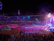 Im Stade de Suisse in Bern hat am Samstagabend erneut das Energy Air stattgefunden und tausende Musikfans begeistert. (Bild: KEYSTONE/ANTHONY ANEX)
