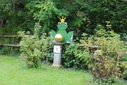 Der Froschkönig. (Bild: Christof Lampart)