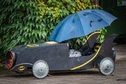 Der kleine Nachteil des Cabrios: Man ist vor Regen nicht geschützt. (Bild: Christian H. Hildebrand, Steinhausen, 8. September 2019)