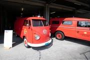 Auch alte Feuerwehrfahrzeuge konnten bestaunt werden. (Bild: Roger Zbinden, Neuheim, 7. September 2019)