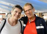 Die ehemalige W&O-Sekretärin Esther Pucher und ihr Mann Werner feiern nach dem Wiga-Jubiläum bald ein privates. Bild: Hansruedi Rohrer