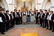 Auftritt der Stadtjodler Heimelig Frauenfeld. (Bild: Andreas Taverner)