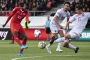 Der Start der Versöhnung? Die Tore gegen Gibraltar sorgen für einige gute Gefühle rund um die Schweizer Nati. So soll es im Oktober in Dänemark und gegen Irland weitergehen. (Bild: Keystone)