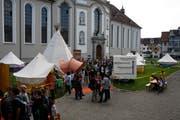 Das «Respect Camp» findet nicht zum ersten Mal auf dem Klosterplatz statt. Es dauert bis Freitag. (Bild: PD)