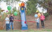 Der Eschliker Spielplatz Herdern bei seiner Einweihung 2012. (Archivbild: Christoph Heer)