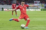 Debütierte gegen Gibraltar für das A-Nationalteam: Ruben Vargas. (Bild: Keystone)
