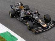 Der Genfer Romain Grosjean fährt für das Formel-1-Team Haas (Bild: KEYSTONE/EPA ANSA/DANIEL DAL ZENNARO)