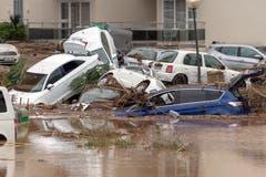 Mehrere Personen starben in den Fluten. (Bild: EPA/Cati Cladera)