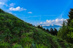 Steiler Aufstieg Richtung Stockberg. (Bild: Renato Maciariello)