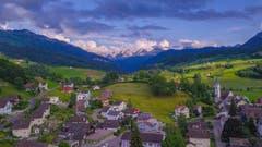 Schöner Blick von Nesslau Richtung Churfirsten. (Bild: Renato Maciariello)