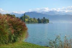 Herbstlicher Farbenzauber am Quai, in Luzern. (Bild: Josef Habermacher (Luzern, 11. Oktober 2018))