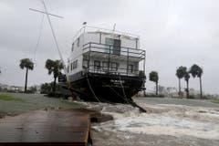 Hurrikan «Michael» richtet in Florida schwere Verwüstungen an. (Bild: Keystone)