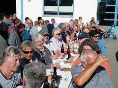 Jedes Jahr besuchen viele Schaulustige die Oberrieter Gemeindeviehschau.