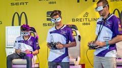 Beim Qualifiing: Die «Swiss Black Kites» konzentrieren sich hundertprozentig. (Bild: Ueli Frey)