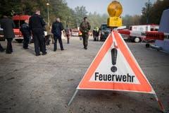 Frauenfeld TG - In einer gross angelegten Übung zum Thema Koordination kamen Feuerwehrleute aus der ganzen Schweiz nach Frauenfeld.