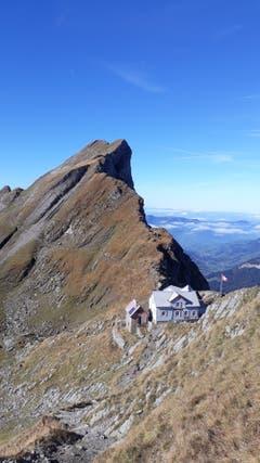 Der Ausblick auf der Wanderung zum Säntis. (Bild: Manfred Roth)