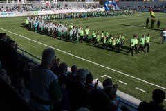 Ein grosses Volksfest für den SC Kriens. (Bild: Boris Bürgisser (Kriens, 13. Oktober 2018))