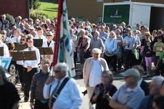 Das Fest zieht zahlreiche Zuschauer an. (Bild: Roger Zbinden (Walchwil, 13. Oktober 2018))