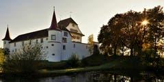 Oktobermorgen beim Schloss Wyher in Ettiswil. (Bild: André Egli (13. Oktober 2018))