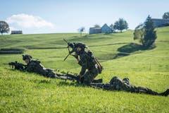 «Semper Fidelis» (immer treu) - das Motto der Grenadiere ist Programm. (Bild: Hanspeter Schiess)
