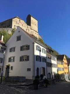 Das Schloss Sargans in Sargans. (Bild: Toni Sieber)