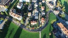 Drohnenflug an der Viehschau in Kirchberg. (Bild: Manuel Wehrli)