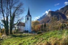 Die Evangelische Kirche Sennwald. (Bild: Toni Sieber)