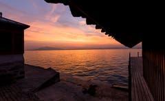 Sonnenuntergang am Zugersee. (Bild: Daniel Hegglin (Zug, 18. Oktober 2018))