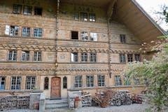 Die Käsehändler lebten gut: Das «Grand Chalet», in dem der Maler Balthus lebte (Bild: .)