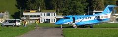 Ein PC-24 wird in Ennetbürgen auf «Herz und Nieren» geprüft. (Bild: Sepp Bernasconi (Ennetbürgen, 26. September 2018))