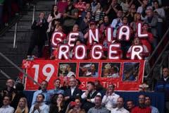 2017 - Kreative Fans von Roger Federer (PPR/Kurt Schorrer)