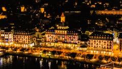 Hotel schweizerhof. (Bild: Lukas Thüring (Luzern, 16. Oktober 2018)
