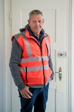 Der Engelberger SVP-Kantonsrat Kari Feierabend ist Werkleiter des Holcim Schotterwerks Kehrsiten. (Bild: Corinne Glanzmann, Kehrsiten, 16. Oktober 2018)
