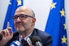 Die EU-Kommission weist erstmals den Haushaltsentwurf eines Euro-Staates zurück. Die Pläne der italienischen Regierung in Rom stünden nicht in Einklang mit dem EU-Stabilitätspakt, teilte EU-Finanzkommissar Pierre Moscovici mit. (Bild: Angelo Carconi/Epa)