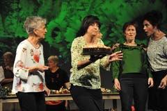 Szene aus dem Stück «Kalender Girls». (Bild: Urs Hanhart (Altdorf, 24. Oktober 2018))