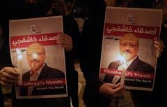 Die Verdächtigen in der Khashoggi-Affäre haben die Tötung des saudischen Journalisten in Istanbul nach Einschätzung der Behörden in Riad vorab geplantDafür gebe es Bewesie, sagte der türkische Präsident Recep Tayyip Erdogan. (Bild: Erdem Sahin/Epa)