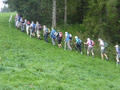 Gemeinsam statt einsam. Rothenburger Senioren unterwegs (Bild: Hans Scheidegger)