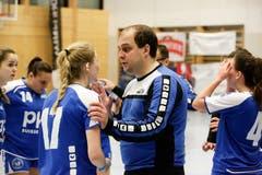 WeGames Weinfelden: Impressionen vom Handballspiel BSV Weinfelden (blau) - SC Frauenfeld (rot) (Bilder: Donato Caspari)