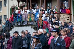 Die Älplerchilbi zog viel Publikum an. (Bild: Edi Ettlin (Buochs, 28. Oktober 2018))