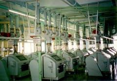 Elmar Wirz wartete Anlagen wie diese. Bild aus dem Innern der Eberle Mühle. (Bild: zVg)